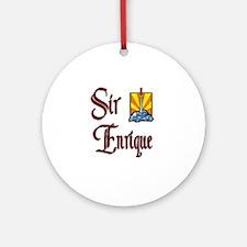 Sir Enrique Ornament (Round)