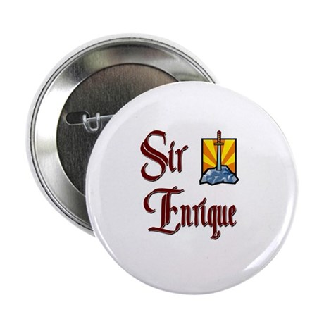"""Sir Enrique 2.25"""" Button"""