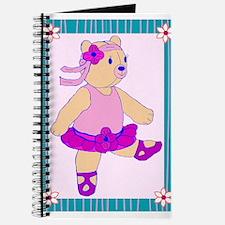 Ballerina Bear Journal