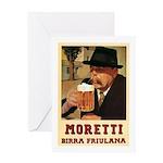 Moretti Birra Friulana Greeting Card