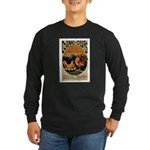 Cognac des Oeufs Long Sleeve Dark T-Shirt