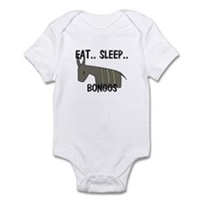Eat ... Sleep ... BONGOS Infant Bodysuit