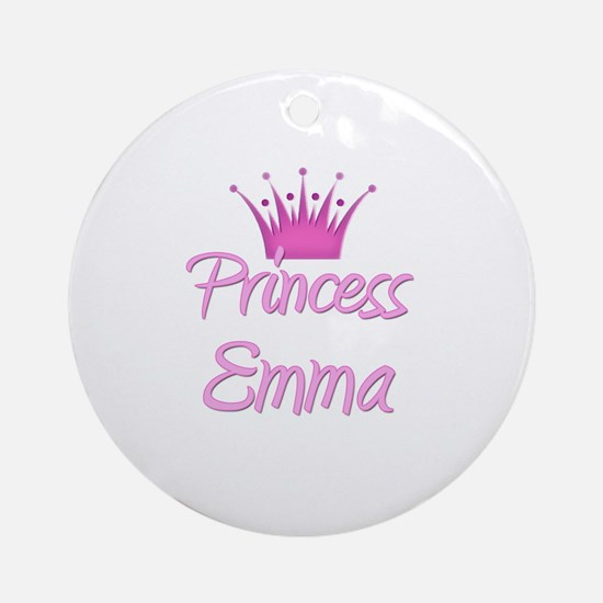 Princess Emma Ornament (Round)