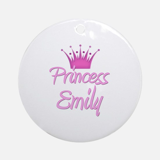 Princess Emily Ornament (Round)