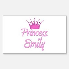 Princess Emily Rectangle Decal