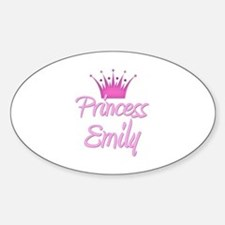 Princess Emily Oval Decal