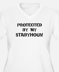 Protected by Stabyhoun T-Shirt
