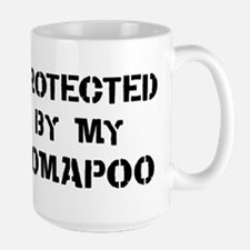 Protected by Pomapoo Mug