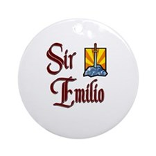Sir Emilio Ornament (Round)
