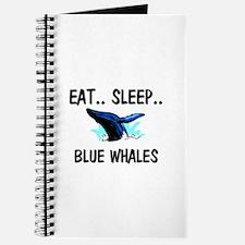 Eat ... Sleep ... BLUE WHALES Journal