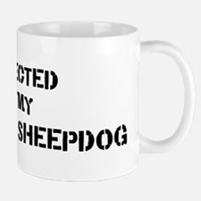Protected by Maremma Sheepdog Mug