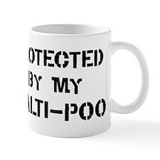 Protected by Malti-Poo Mug