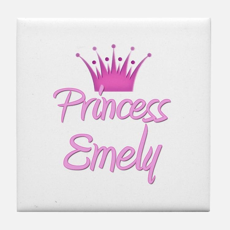 Princess Emely Tile Coaster