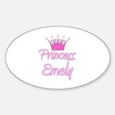 Princess Emely Oval Decal