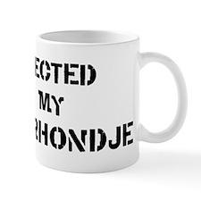 Protected by Kooikerhondje Mug