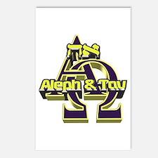 Aleph & Tav Postcards (Package of 8)