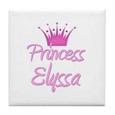 Princess Elyssa Tile Coaster