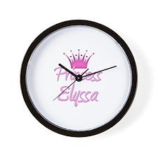 Princess Elyssa Wall Clock