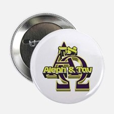 "Aleph & Tav 2.25"" Button (100 pack)"