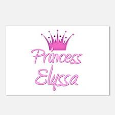 Princess Elyssa Postcards (Package of 8)