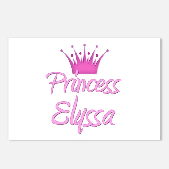 Princess Elyssa Postcards (Package of 8)