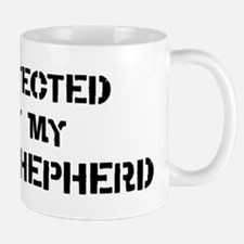 Protected by King Shepherd Mug
