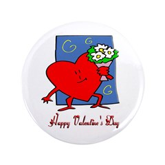 Valentine Heart Flowers 3.5