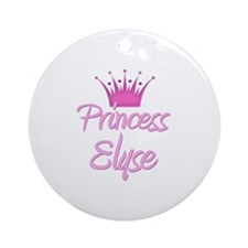 Princess Elyse Ornament (Round)
