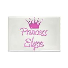 Princess Elyse Rectangle Magnet