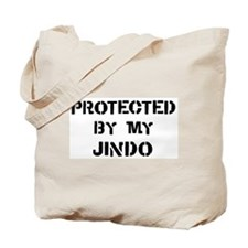 Protected by Jindo Tote Bag