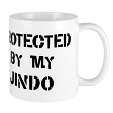 Protected by Jindo Mug