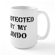 Protected by Jindo Mug