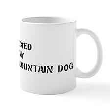 Protected by Entlebucher Moun Small Small Mug