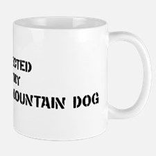 Protected by Entlebucher Moun Small Small Mug