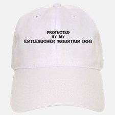 Protected by Entlebucher Moun Baseball Baseball Cap