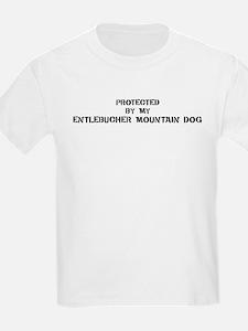 Protected by Entlebucher Moun T-Shirt