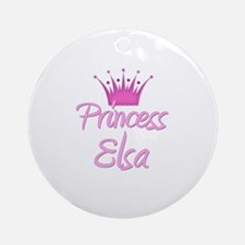 Princess Elsa Ornament (Round)