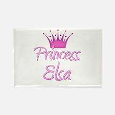 Princess Elsa Rectangle Magnet