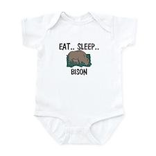 Eat ... Sleep ... BISON Infant Bodysuit