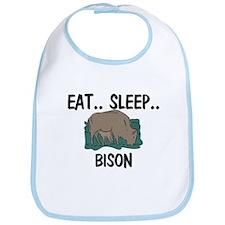 Eat ... Sleep ... BISON Bib
