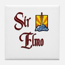 Sir Elmo Tile Coaster