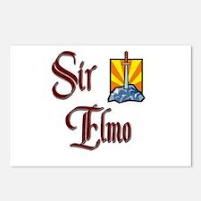 Sir Elmo Postcards (Package of 8)