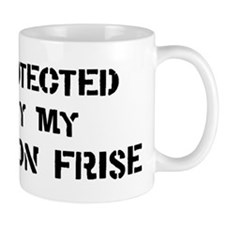 Protected by Bichon Frise Mug