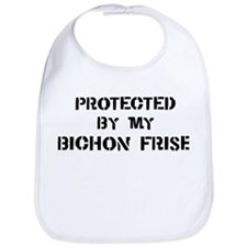 Protected by Bichon Frise Bib