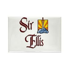 Sir Ellis Rectangle Magnet