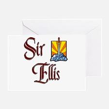 Sir Ellis Greeting Card