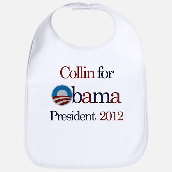 Collin for Obama 2012 Bib