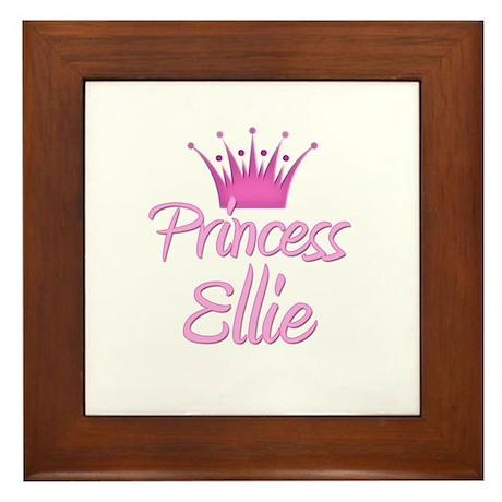 Princess Ellie Framed Tile