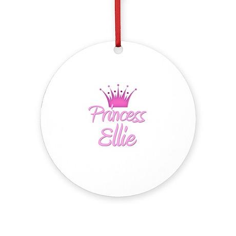 Princess Ellie Ornament (Round)