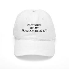 Protected by Alaskan Klee Kai Baseball Cap